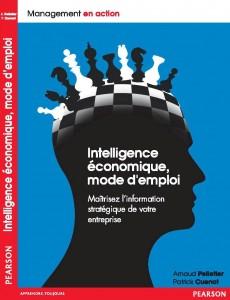Couverture Livre Intelligence Economique -  Arnaud PELLETIER
